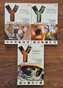 Vertigo: Y The Last Man. Trade Paperback Vol.1 - Vol.3
