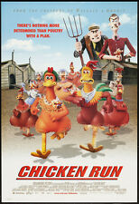 Chicken Run - Original Movie Poster - 2000 Rolled Ds *Hollywood Posters*