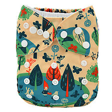 1 Park Girl Baby Infant Cloth Diaper Reusable Washable Adjustable Pocket Nappy