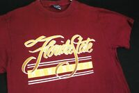 Vintage 90s Florida State Seminoles USA Made T Shirt Mens Small Single Stitch