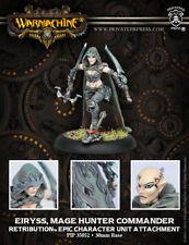 Warmachine: Retribution of Scyrah Eiryss, Mage Hunter Commander Epic 35052 NEW