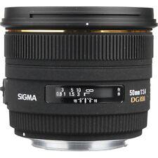 Sigma 50mm EX 1.4 DG HSM monture Canon AF