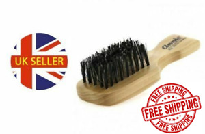 New Skin Fade Wave Mini Afro Hair Beard hard Brush 100%Reinforced Boar Bristles