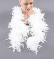 White Feather Boa 2m Long Moulin Rouge Can Can Girl Drag Queen Fancy Dress