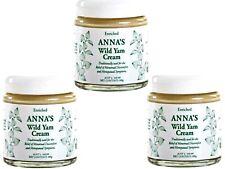 3 x 100g ANNA'S Wild Yam Cream ANNAS