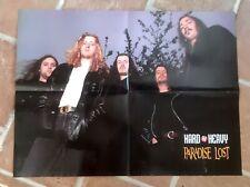 poster affiche revue magazine français Rock PARADISE LOST 56x42cm