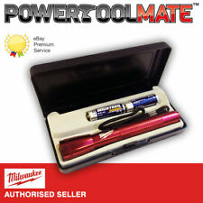 Milwaukee MagLite Flash Light With Case & Two Batteries