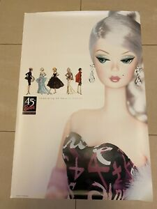 40th Anniversary Barbie Silkstone 2 Poster Set NEW!