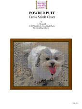 POWDERPUFF - cross stitch chart