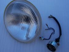 "LUCAS HEAD LAMP LIGHT BEAM UNIT LENS 6 1/2"" TRIUMPH BSA NORTON AJS MATCHLESS"