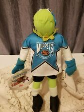 Collectible Muppet Kermit The Frog 1995 McDonalds Nhl Hockey Plush