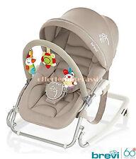 Brevi Sdraietta Gaia colore tortora per nanna e relax del bimbo infanzia baby