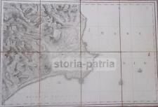 CALABRIA_BELCASTRO_COSENZA_CROTONE_S. SEVERINA_STRONGOLI_ANTICA CARTOGRAFIA_'700