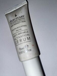 Sanctuary Anti Wrinkle Activation Serum 15 Mls Tube Scratched