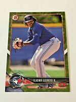 2018 Bowman Prospects Baseball Camo Parallel - Vladimir Guerrero Jr. - Blue Jays