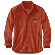 Carhartt Force Ridgefield Work Shirt, NWT - Mens L - Red, Vented Relaxed 102418