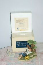 "Vintage Norman Rockwell ""Spring Fever"" Collectible Figurine Mint in Box & Coa
