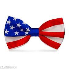 Noeud Papillon Drapeau USA - Etats Unis - Oncle Sam