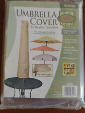 """New listing Allen Heavy Duty Patio Outdoor Umbrella Protective Canopy Cover Bag fit 65""""X19"""""""