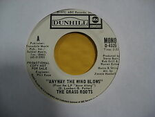 The Grass Roots <> Anyway the wind blows <>Promo D-4325 45 RPM (Inv#F5-1001)