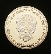 Day of the Dead - Dia de los Muertos - Collectors Gift Coin - Candy Skull