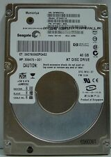 ST94011A 6 In stock Tested Good 30 Day Warranty Seagate 40GB IDE 2.5 inch Drive