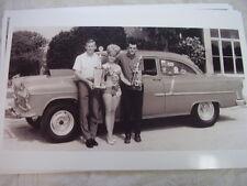 1955 CHEVROLET RACE CAR & 1965 MISS FLA DRAG RACES 11 X 17  PHOTO /  PICTURE
