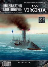 MODEL KARTONOWY 202 - CSS 'VIRGINIA' - 1/200 paper model