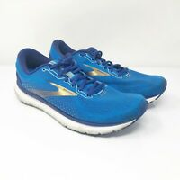 Brooks Mens Glycerin 18 1103291D459 Blue Running Shoes Lace Up Low Top Size 9 D