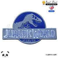 Jurassic World Movie Video Game Embroidered Iron On Sew On Patch Badge