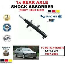 FOR TOYOTA AVENSIS 1.6 1.8 2.0 1997-2002 1x SACHS REAR AXLE RIGHT SHOCK ABSORBER