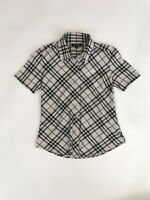 Burberry London Nova Check Shirt Girl Junior Size Medium Japan Vintage
