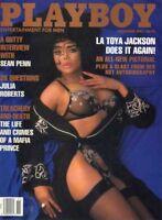 PLAYBOY NOVEMBER 1991 Tonja Christinsen LaToya Jackson Julia Roberts Sean Penn