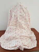 CLOUD9 Floral FOXGLOVE PINK 112cm wide ORGANIC COTTON Poplin FABRIC By the metre