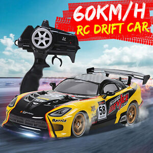 RC Cars 1:16 Scale High Speed Remote Control Car 4WD 2.4G Off Road Monster
