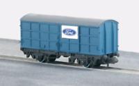 Peco NR-P55 N Gauge Pallet Van Ford Blue