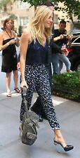 Pantaloni harem maculati TOPSHOP leopard harem pants Sienna Miller UK14 IT46