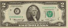 "1976  $2 1st day issue, Philadelphia, PO ""Glendora, NJ"", Unc (X-37)"