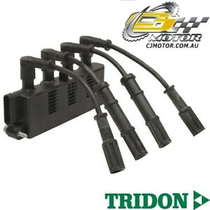 TRIDON IGNITION COIL FOR Fiat  Punto 07/06-06/10, 4, 1.4L 350A1000