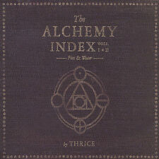 The Alchemy Index, Vols. I-II: Fire & Water by Thrice (CD, Oct-2007, 2 Discs,...