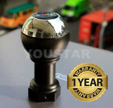 UK STOCK SOLID CHROME HEAVY Weighted MT Short Gear Knob for BMW 5 & 6 Speed