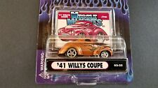 Muscle Machines 41 1941 Willy's Coupe Hot Rod 1:64 Diecast 02-25 Copper Gasser