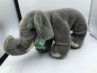 Korimco Kingdom Zumba Wild Grey Elephant Plush Kids Soft Stuffed Toy Animal