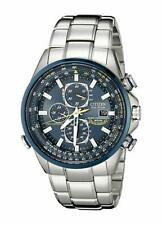 Citizen AT8020-54L Mens Watch Blue Angels World Chronograph Eco-Drive S.S.
