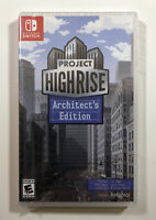 Project Highrise: Architect's Edition (Nintendo Switch) NEW - Factory Sealed