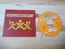 CD Pop Mr.President - Where Do I Belong (1 Song) Promo WEA