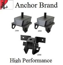 3 PCS FRONT MOTOR & TRANS MOUNT For 70-74 PLYMOUTH BARRACUDA 5.2L W/O HD PACKAGE