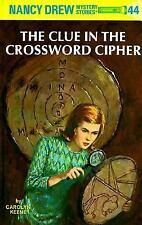 Clue in the Crossword Cipher - Carolyn Keene Nancy Drew 44 thieves in Peru