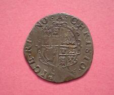 More details for charles i silver shilling mm bell - 1634/5 - spink 2791