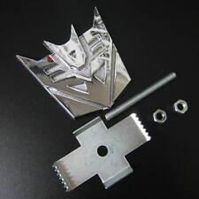 Car Transformers Decepticon Metal Front Grill Fender Hood Alloy Emblem Badge